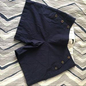 J. Crew navy blue shorts Size 8